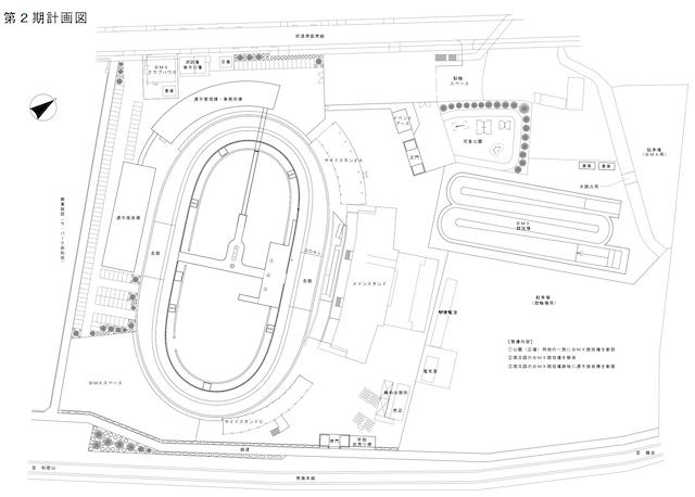 岸和田競輪場完成図